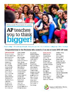 "SEE WHO SCORED A ""5"" ON AN AP TEST IN 2019"